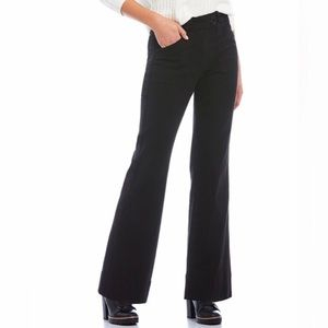 Chelsea & Violet Black High Rise Wide Leg Jean